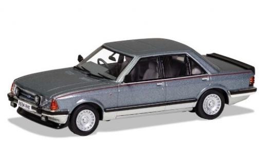 Ford Granada 1/43 Vanguards Mk II 2.8i Ghia X metallise grise/grise RHD 1983 miniature