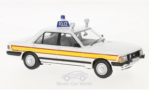 Ford Granada 1/43 Vanguards MkII 2.8i RHD Sussex Constabulary (Police) miniature