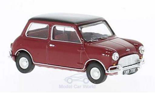 Mini Cooper S 1/43 Vanguards Mk1 rouge/noire RHD miniature