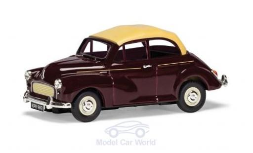 Morris Minor 1/43 Vanguards 1000 Convertible red/beige RHD diecast