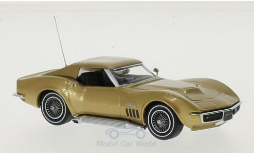 Chevrolet Corvette C3 1/43 Vitesse  Coupe gold 1969 diecast model cars