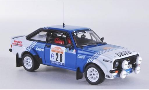 Ford Escort 1/43 Vitesse MKII RS1800 No.28 Castrol Rallye Sanremo 1981 diecast model cars