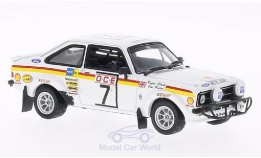 Ford Escort MKI 1/43 Vitesse I RS1800 No.7 GP Marokko 1976 R.Clark/J.Porter miniature