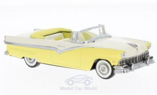 Ford Fairlane 1956 1/43 Vitesse Convertible yellow/beige diecast model cars