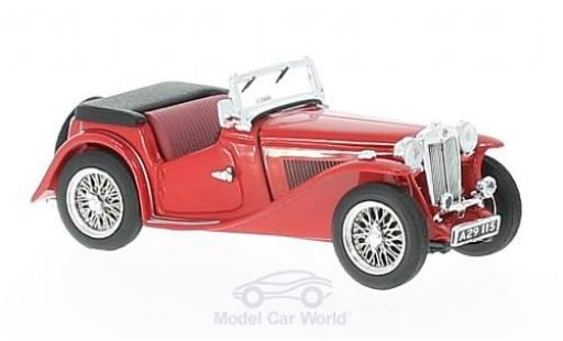 MG TC 1/43 Vitesse rouge RHD miniature