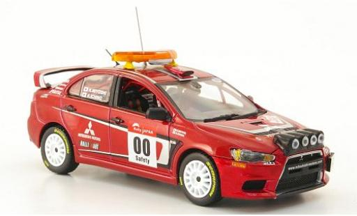 Mitsubishi Lancer 1/43 Vitesse Evo X Rallye Japan 2007 Safety-Car H.Miyoshi/H.Ichino miniature