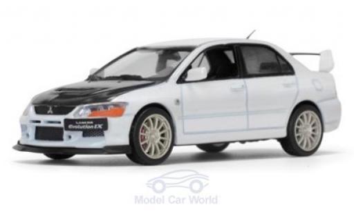 Mitsubishi Lancer Evolution IX 1/43 Vitesse blanche/noire miniature