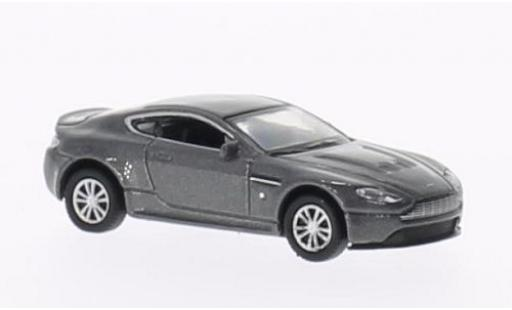 Aston Martin V12 1/87 Welly Vantage metallise grise miniature