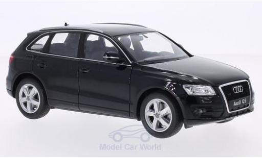 Audi Q5 1/24 Welly métallisé noire miniature
