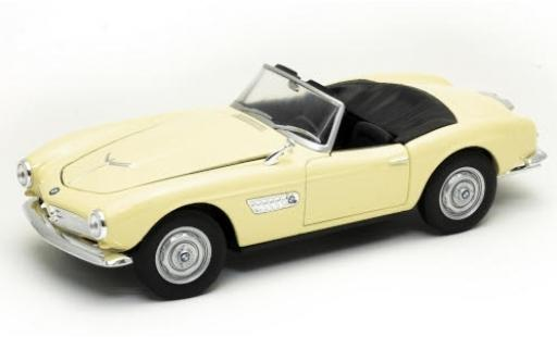 Bmw 507 1/24 Welly beige Verdeck ouvert diecast model cars