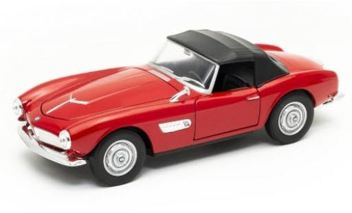 Bmw 507 1/24 Welly rouge Verdeck fermé miniature