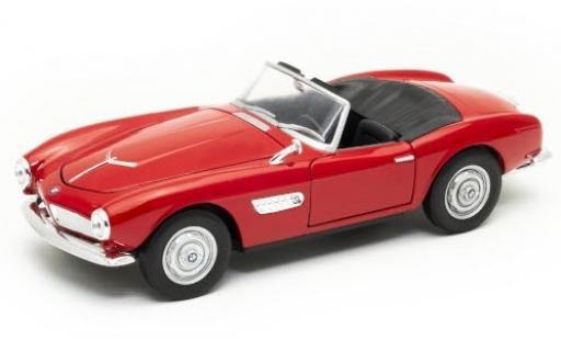 Bmw 507 1/24 Welly red Verdeck ouvert diecast model cars