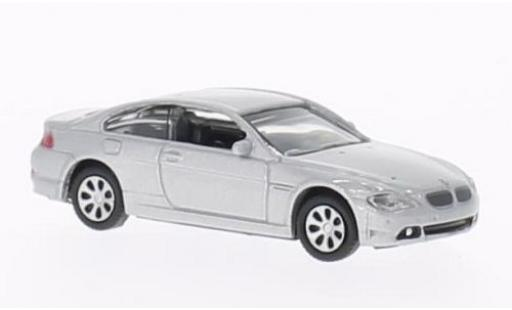 Bmw 645 1/87 Welly ci grey diecast model cars