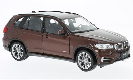 Bmw X5 1/24 Welly (F15) marron miniature
