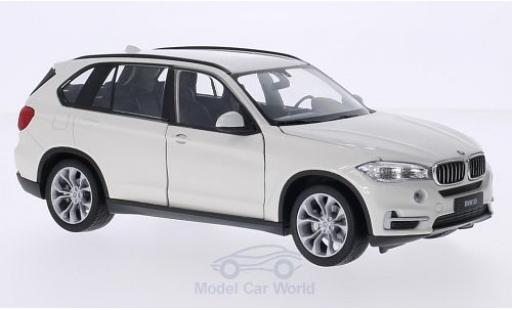 Bmw X5 1/24 Welly (F15) blanche miniature