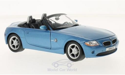 Bmw Z4 1/24 Welly metallise bleue 2003 miniature