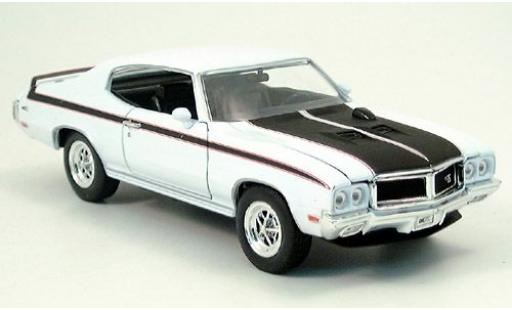 Buick GS 1/24 Welly X blanche/noire 1970 miniature