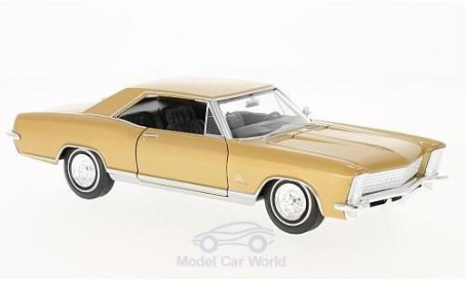 Buick Riviera 1/24 Welly Grand Sport gold 1965 miniature