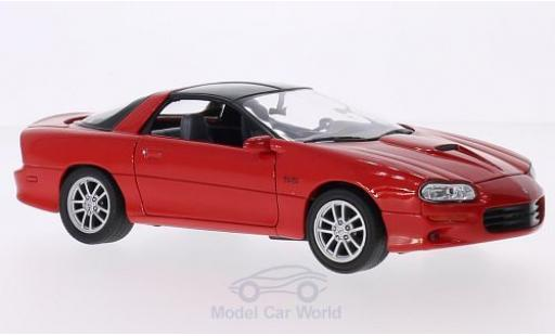 Chevrolet Camaro SS 1/24 Welly red 2002 diecast model cars