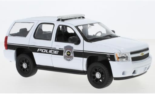 Chevrolet Tahoe 1/24 Welly Police Vehicles 2008 modellautos