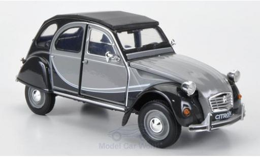 Citroen 2CV 1/24 Welly 6 Charlston grey/grey ohne Vitrine diecast
