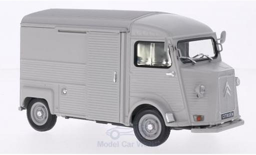 Citroen Type H 1/24 Welly matt-grey diecast model cars