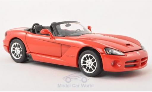 Dodge Viper 1/24 Welly SRT-10 rouge 2003 miniature