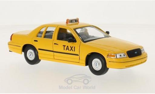 Ford Crown 1/24 Welly Victoria New York Taxi 1999 ohne Vitrine miniatura