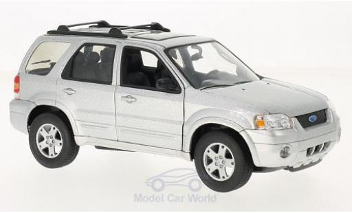 Ford Escape 1/24 Welly Limited grise 2005 miniature