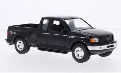 Ford F-1 1/24 Welly 50 Flareside Supercab noire 1999 miniature
