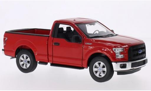 Ford F-1 1/24 Welly 50 rouge 2015 miniature
