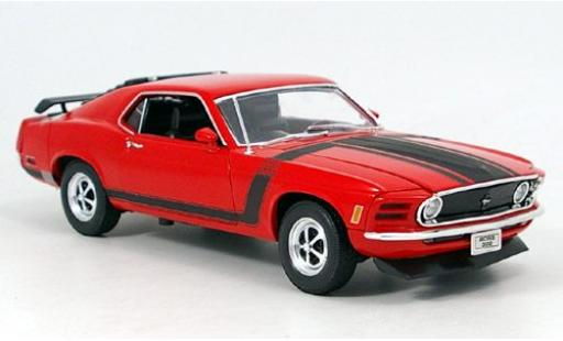 Ford Mustang 1/18 Welly Boss rouge 1970 miniature