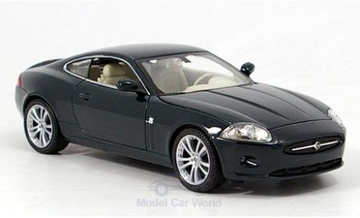 Jaguar XK 1/24 Welly 150 Coupe metallise green ohne Vitrine diecast model cars
