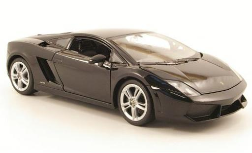 Lamborghini Gallardo LP560-4 1/24 Welly noire sans Vitrine miniature