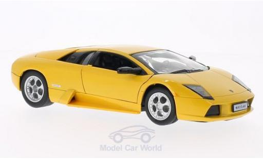 Lamborghini Murcielago 1/24 Welly yellow diecast model cars