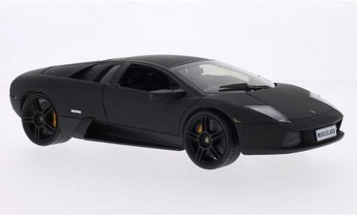 Lamborghini Murcielago 1/18 Welly matt-black diecast model cars