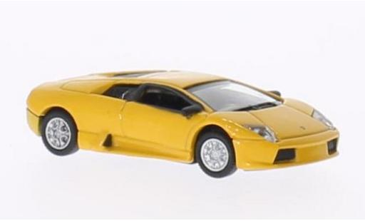 Lamborghini Murcielago 1/18 Welly metallise yellow diecast model cars
