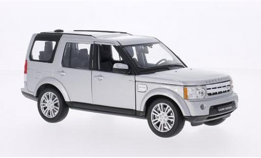 Land Rover Discovery 1/24 Welly 4 grise miniature