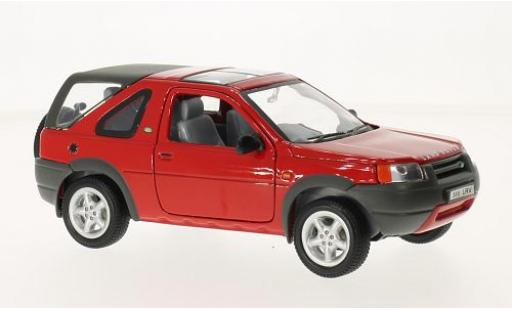 Land Rover Freelander 1/24 Welly rot RHD 1998 modellautos