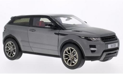 Land Rover Range Rover 1/18 Welly Evoque matt-grise/noire GTA Edition miniature