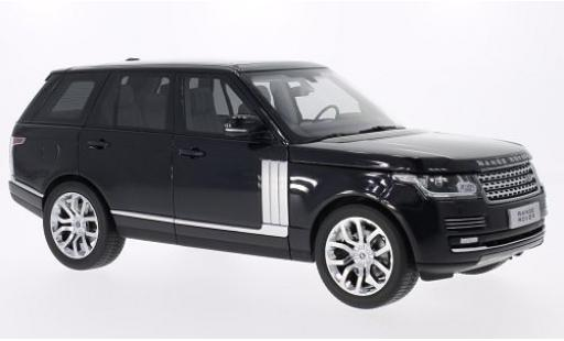 Land Rover Range Rover 1/18 Welly metallise noire 2013 GTA Edition miniature