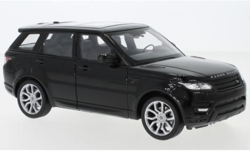 Land Rover Range Rover 1/24 Welly Sport noire miniature