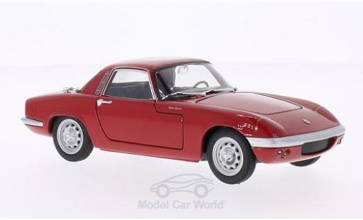 Lotus Elan 1/24 Welly rouge 1965 miniature