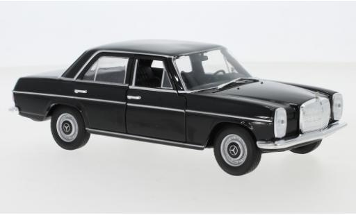 Mercedes 220 1/24 Welly (W115) black 1968 diecast model cars