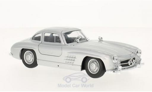 Mercedes 300 1/24 Welly SL (W198) gris miniatura
