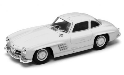 Mercedes 300 1/24 Welly SL (W198) white diecast model cars