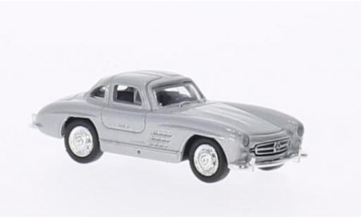 Mercedes 300 1/87 Welly SL grise miniature