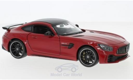 Mercedes AMG GT 1/24 Welly R rojo miniatura