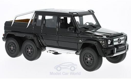 Mercedes Classe G 1/24 Welly G 63 AMG 6x6 noire miniature