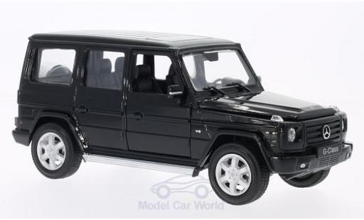 Mercedes Classe G 1/24 Welly black diecast model cars